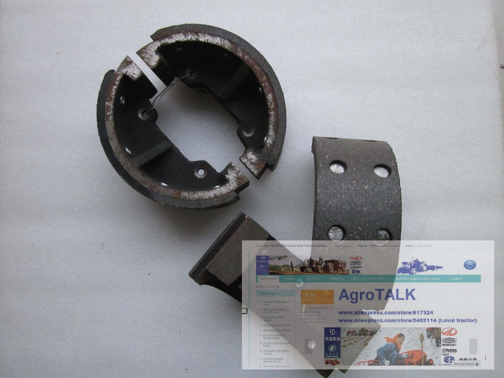 Lenar Tractor Parts : Lenar tractor parts the brake shoes for one