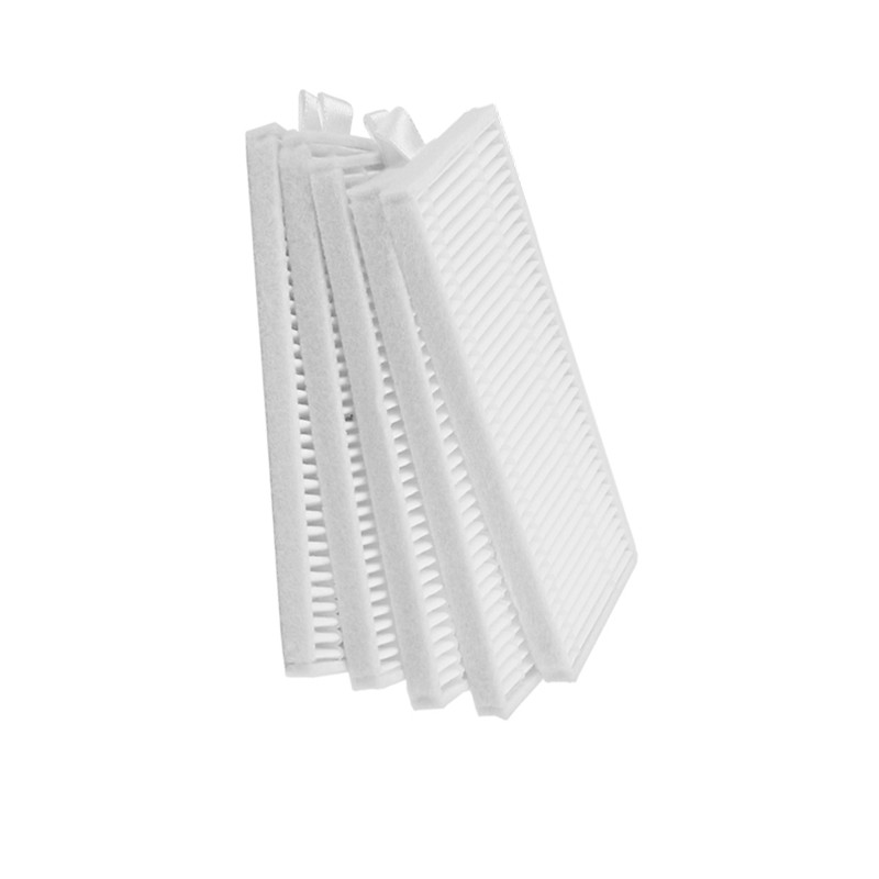 5 Pieces/lot Robotic PRO3S Filters HEPA Filter For Iseelife Pro3s 1300 Pa Robotic Vacuum Cleaner Parts