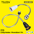 TSLEEN 360 Degrees Flexible Light Bulb Socket Extender Adapter E27 Lamp Holder 19-60cm High Quality