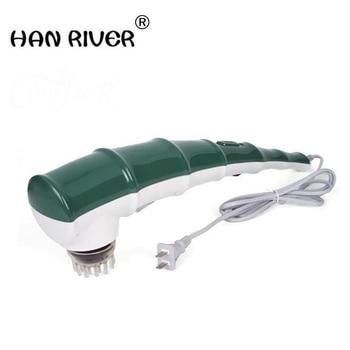 Vibration massager back rubs massage neck lumbar shoulder vibration massage legs electric heating body massager