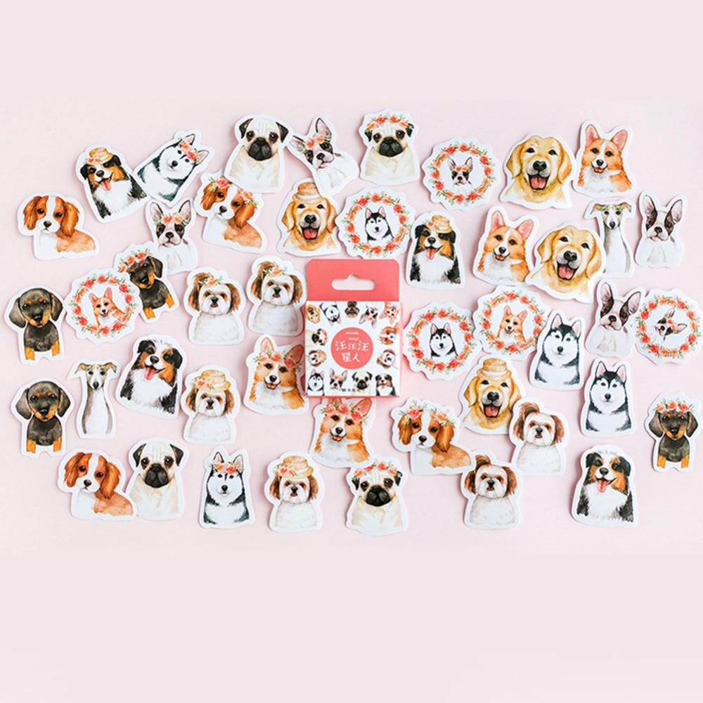 VODOOL 46pcs/set Animal Dogs Sticker Decoration DIY Diary Scrapbooking StickersVODOOL 46pcs/set Animal Dogs Sticker Decoration DIY Diary Scrapbooking Stickers
