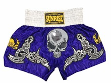 Sunrise 2016e Skeleton MMA Shorts Mens Muay Thai Shorts New Releas Kick  Boxing Shorts