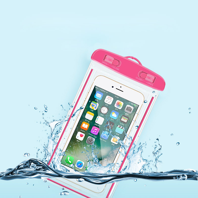 Suntaiho Waterproof Bag with Underwater Swimming Bags Pouch Phone Case For iphone 6s 7 plus universal all models 3.5inch -6inch
