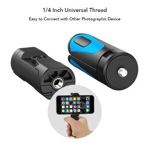 Image 4 - Trépied portatif extensible de trépied dappareil photo de Rotation dapexel 360 avec lagrafe de téléphone Portable de Bluetooth pour liphone de Gopro xiaomi