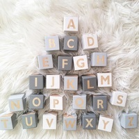 26 alphabet squares decoration for baby room decal thing baby room cute decorative