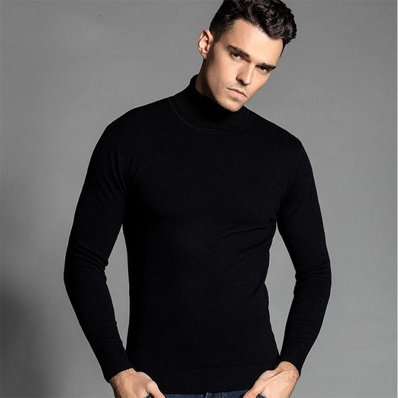 Turtleneck Sweater Man 59