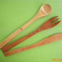 [2.4 yuan special for] models and styles of bamboo knife, bamboo forks, bamboo spoon (10-18CM)