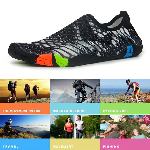 Outdoor Water Sports Diving Shoes Men Snorkeling Sandals Swimming Shoes  Women Beach Shoes Lovers Unisex Sports Sandals Hot 5ed8cf983e