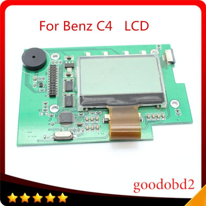 Цена за Для Benz автомобиль грузовик инструмент SD Connect C4 lcd с Доской поддержка Звезда C4 MB диагностический инструмент SD Соединяет Compact4 жк-pcb доска