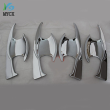 FOR Hilux Revo accessories chrome door handle insert trim for toyota hilux revo car styling for toyota hilux revo bowl parts цена в Москве и Питере