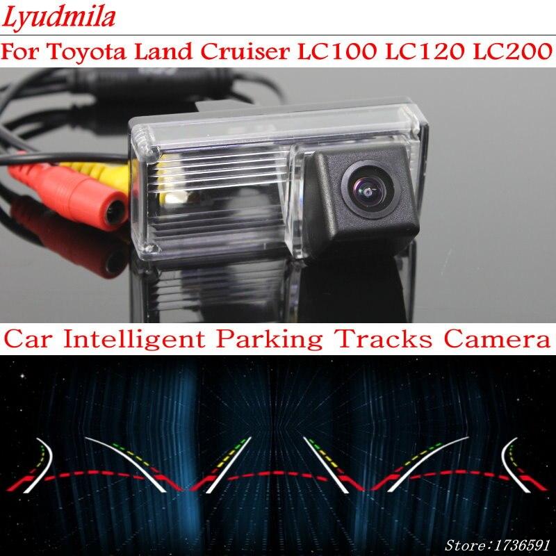 Lyudmila Car Intelligent Parking Tracks Camera FOR Toyota Land Cruiser LC100 LC120 LC200 HD Car Back