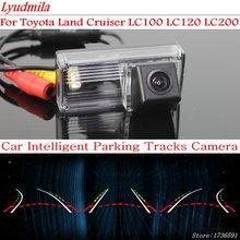 цена на Lyudmila Car Intelligent Parking Tracks Camera FOR Toyota Land Cruiser LC100 LC120 LC200 HD Car Back up Reverse Rear View Camera