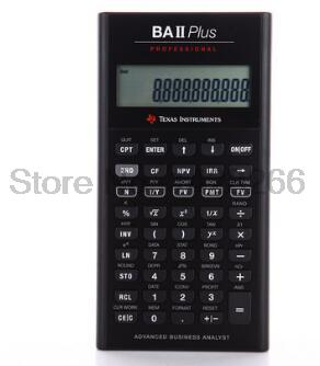 2016 Ti BAII Plus Professional CFA 10 Digits Led Calculatrice Calculadora Financial Calculations Students Financial Calculator