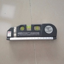 Точный Многоцелевой лазерный нивелир, горизонтальный вертикальный лазерный светильник, измерительная лента, Лидер продаж