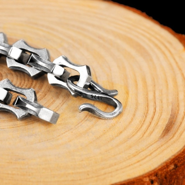 Bracelet argent luxe Viking  3