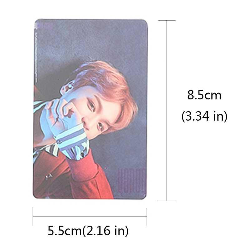 7/8/9Pcs/Set Kpop NCT U 127 BOSS Album Transparent Photo Card TAEYONG MARK  Self-made PVC Lomo Cards Photocard