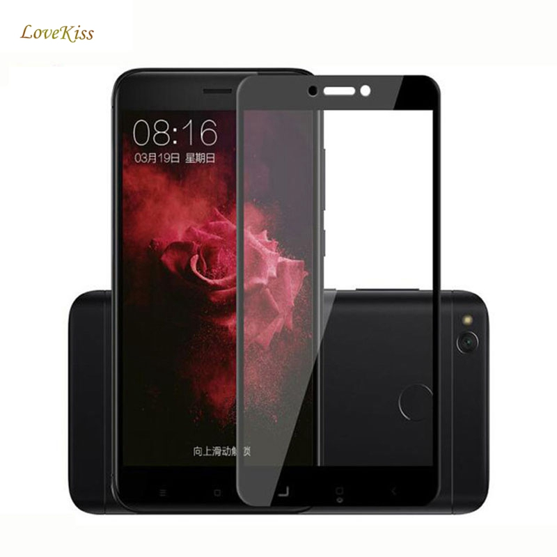 Full Cover Tempered Glass For Xiaomi Mi Note 3 A1 5X A2 6X Mi Mix 2 8 8SE Glass Redmi S2 4X 4A 5A 5 Plus Screen Protector Film