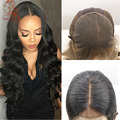New Arrive  13*6 Lace Front Human Hair Wigs 6 inch Deep Part Lace Front Wigs With Baby Hair 8A Virgin Brazilian Human Hair Wig