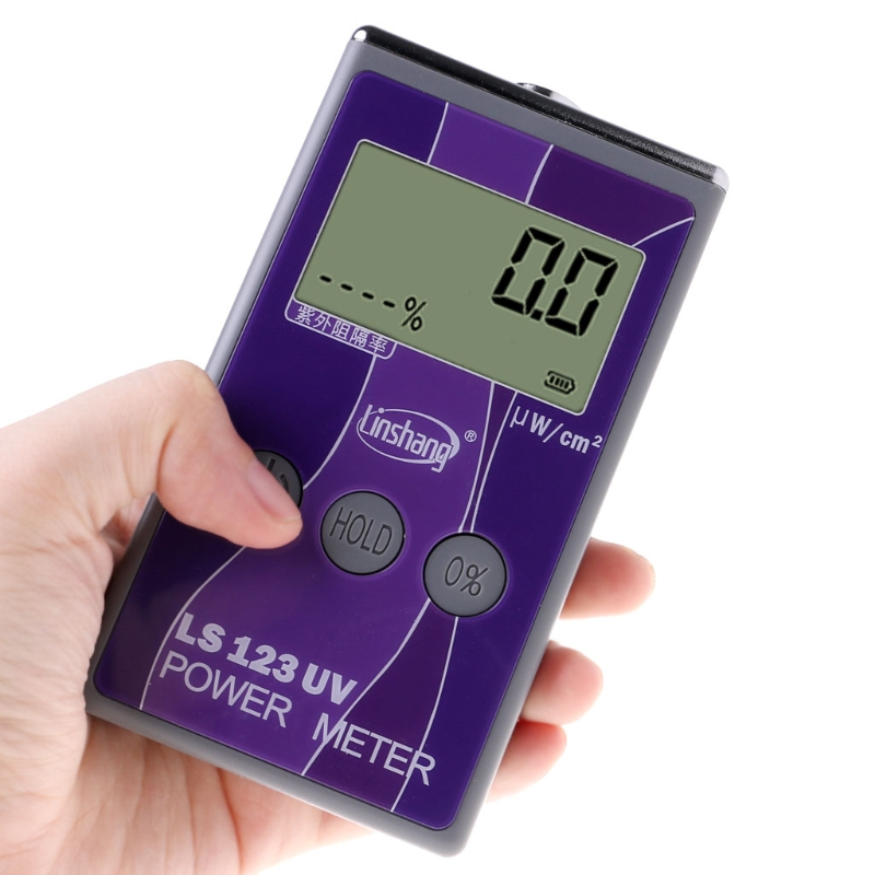 Nouveau Arrivent LS123 UV Power Meter Intensité Ultraviolet Transmission Taux de Rejet Testeur