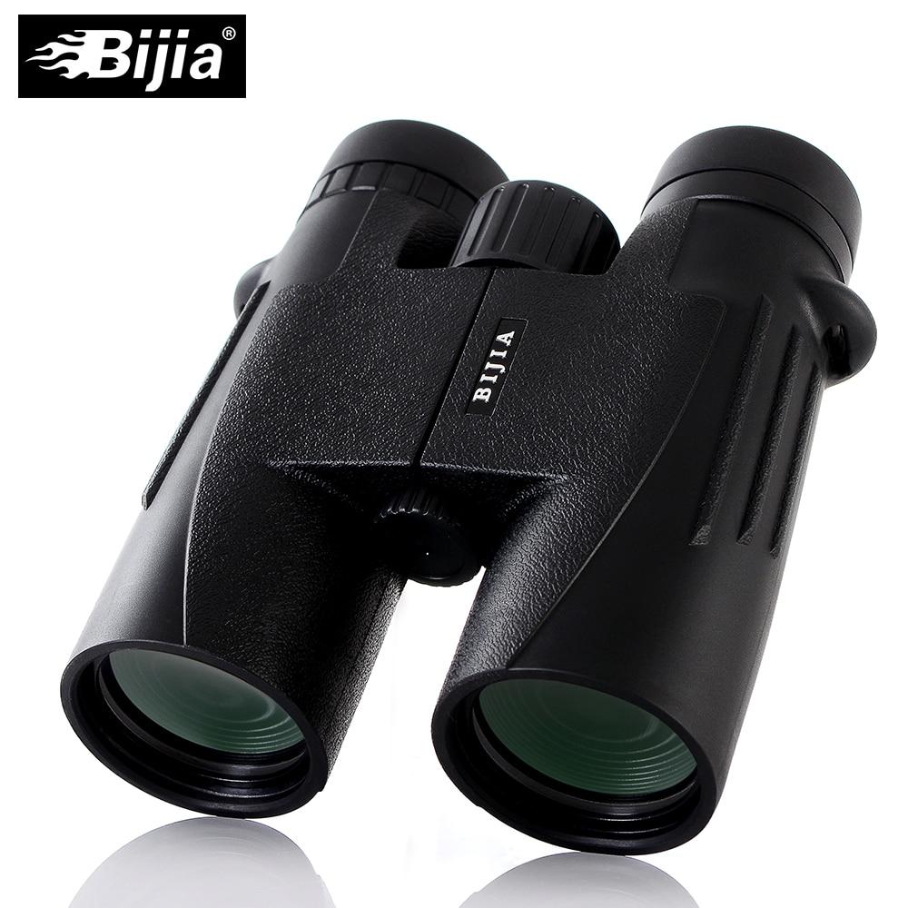 BIJIA Military HD 10x42 Binoculars Long Range Professional Hunting Telescope wide-angle professional 72mm 0 45x wide angle