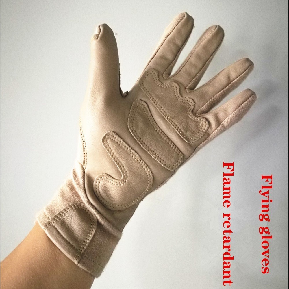 Anti Fire Flame Retardant Gloves Safety Rock Climbing Shooting Army Tactical Outdoor Camping Sniper Insulation Fly Glove Hunting
