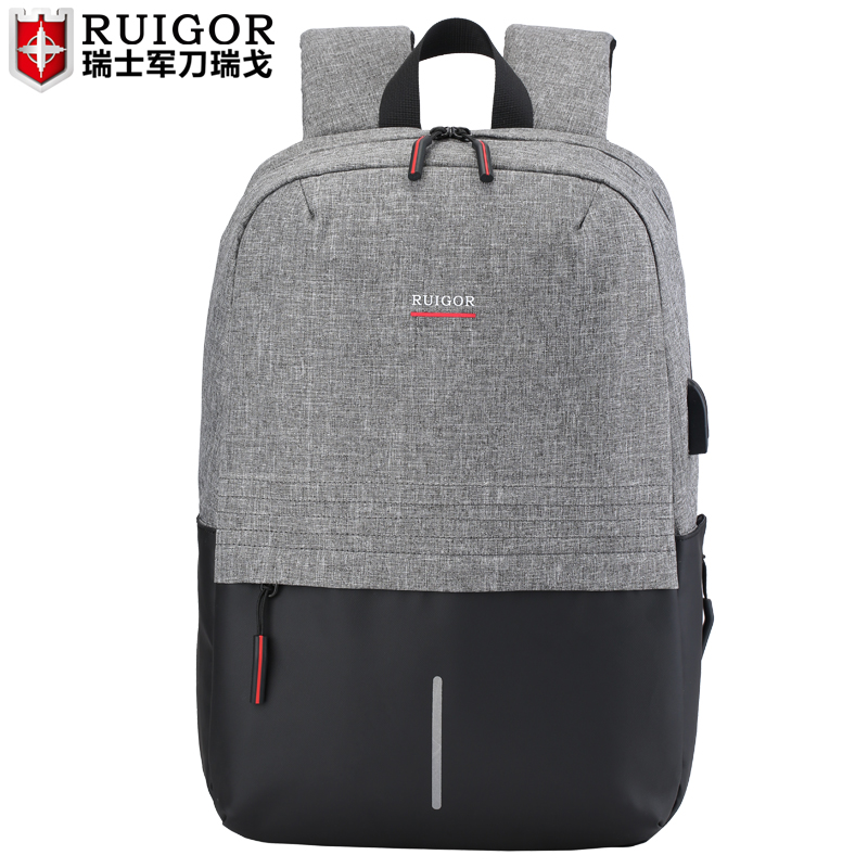 RUIGOR men laptop backpack Large Capacity Schoolbag waterproof antitheft backpacks  travel bags Casual Fashion sports bagRUIGOR men laptop backpack Large Capacity Schoolbag waterproof antitheft backpacks  travel bags Casual Fashion sports bag