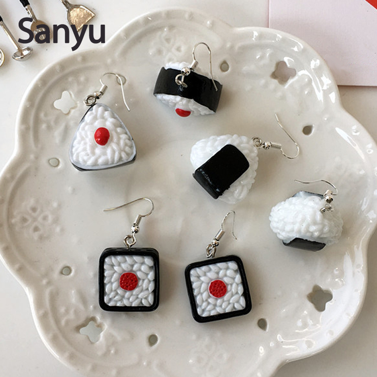 Stud Earrings Popular Brand Gift Cool Style Personalized 100% Handmade Polymer Clay Accessories Earrings Women Cartoon Black Cat Stud Fashion Earrings Crazy Price