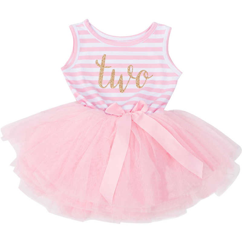 e8100145e1 Summer Toddler Infant Fancy Princess Tutu Print Dress Holiday Layers Fluffy  Baby Girls Dress for 1st 2nd Birthday Newborn Wear