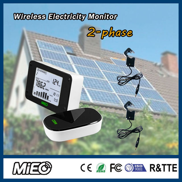 Wireless Electricity Energy Monitor Saver for Renew Power Generation ...