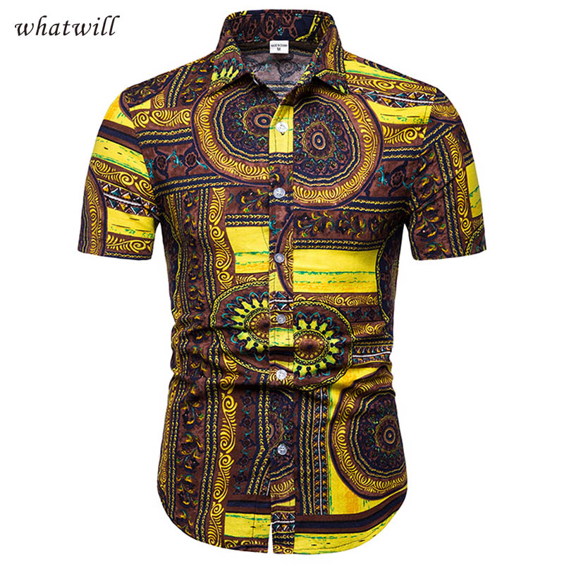 New Fashion African Clothes Dress Shirts Hip Hop Africa Clothing Casual Robe Africaine 3d African Dresses For Women/men
