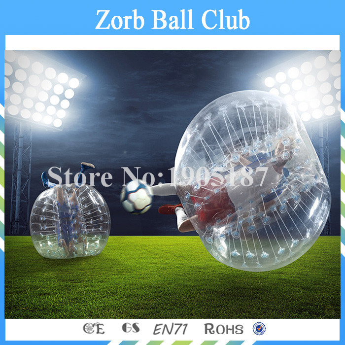 Free Shipping 1.5m Size 1.0mm TPU Inflatable Bumper Ball, Zorb Ball,Inflatable Human Hamster Ball,Bubble Football,Bubble Soccer