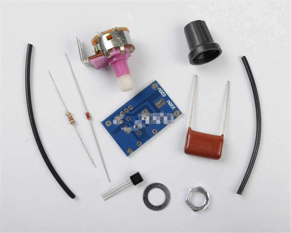 Hot Dimmer Module 100W with Switch Speed Regulation Module DIY Kit For Arduino