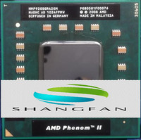 Laptop Cpu Processor AMD P920 HMP920SGR42GM 1 6GHz 2MB Quad Core Socket S1 S1g4 PGA638