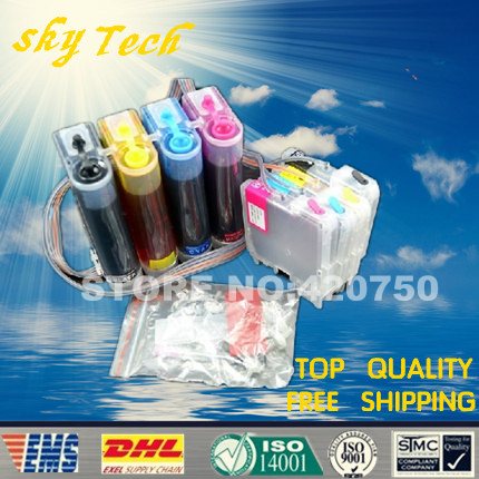 ФОТО [FULL CISS] CISS suit for Brother LC39 LC60 LC975 LC985,suit for DCP-J125/J315W/J515W/MFC-J265W/J410/J415W
