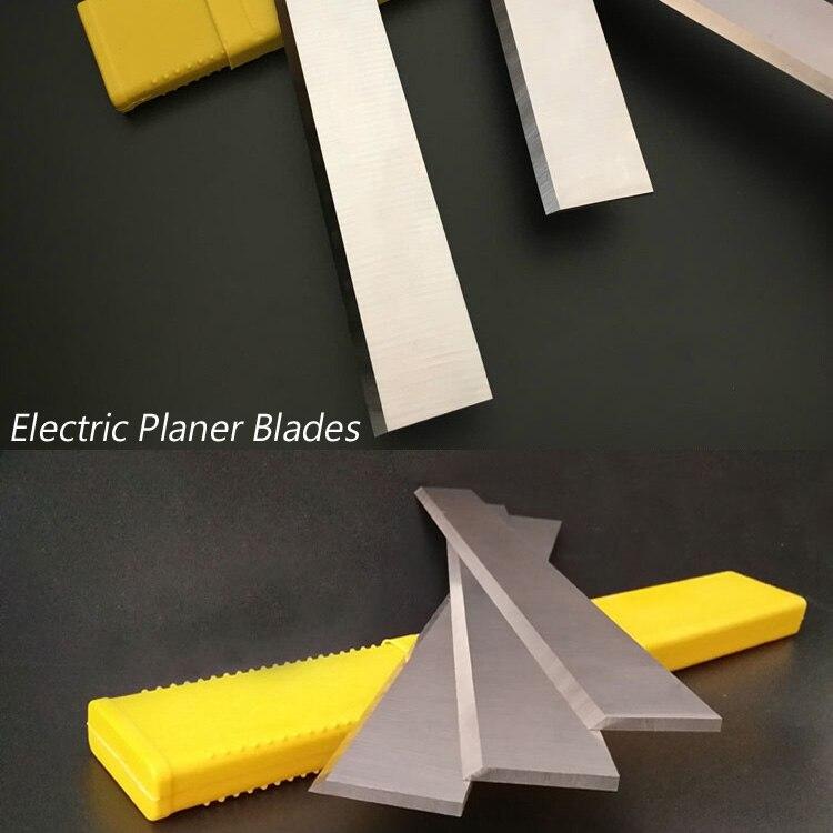 2 Pieces HSS Electric Planer Cutter. 3*25*260mm Woodworking W4 HSS Planer Blade Cut Hardwood. Width 25 / 30 Mm, Length 100-510mm