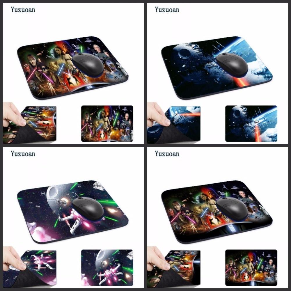 Yuzuoan пользовательских поддержка Звездные войны компьютерных игр Мышь Pad Мышь колодки украсить ваш стол резиновым небуксующий без оверлок к...
