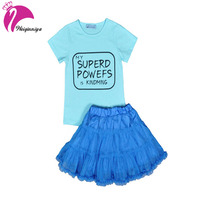 Kids 2pcs Causal Suits 2018 New Arrival Cotton Baby Girl Clothes Elegant Fashion Style Children Summer Short Sleeve Clothing
