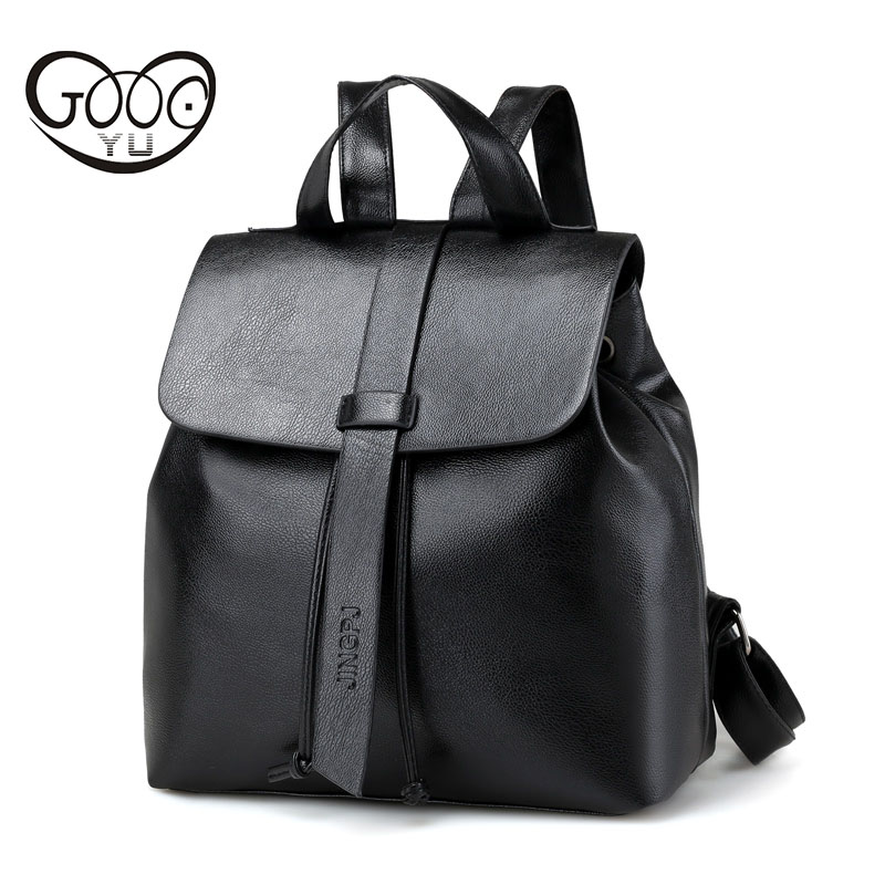 Manufacturers wholesale Leather Backpack School Bag Fashion Designed Brand Backpack Women Casual Style Backpacks Small