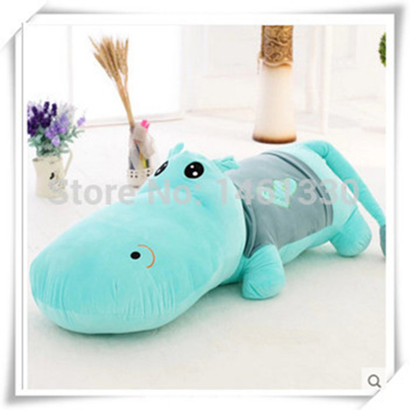 Aliexpress Hippo Pillow Giant Stuffed Animal Bed Mattress Plush Toys For Children Star Toy Christmas Valentine Day Birthday Gift From