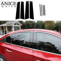 For Chevrolet Cruze Sedan 2010 2015 Mirror Effect Window Center Pillar Cover