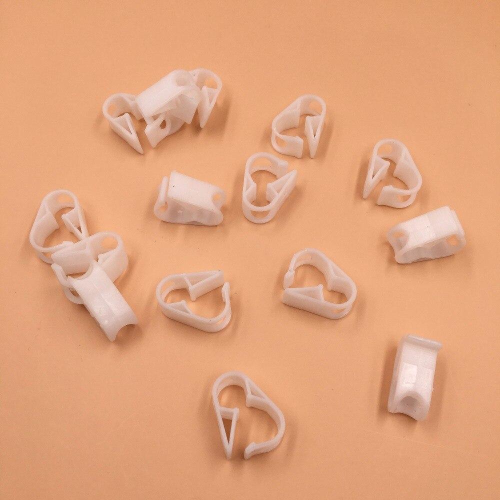 10 pièces livraison gratuite Eco solvant imprimante Mimaki Roland Mutoh en vrac système d'encre tube d'encre pince/plastique encre tuyau connecteur