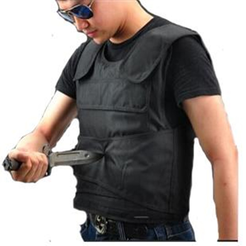 Camping & Hiking Security Guard Knife Stab Vest Soft Anti-knife Vest Lightweight Anti-stab Hiking Clothings