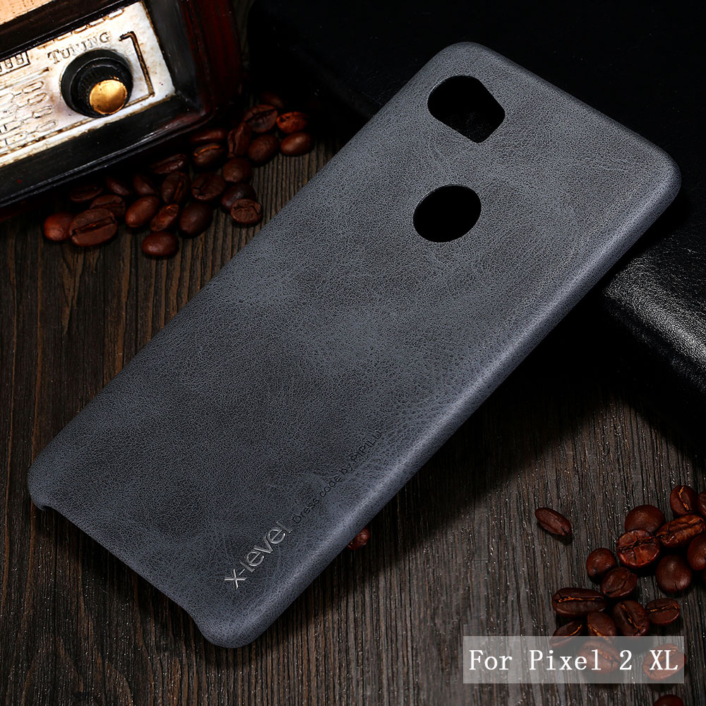 X-level PU Leather For Google Pixel 2 Hard Back Protective Case Cover For Google Pixel 2XL Phone Case Cover Pouch Discount Price