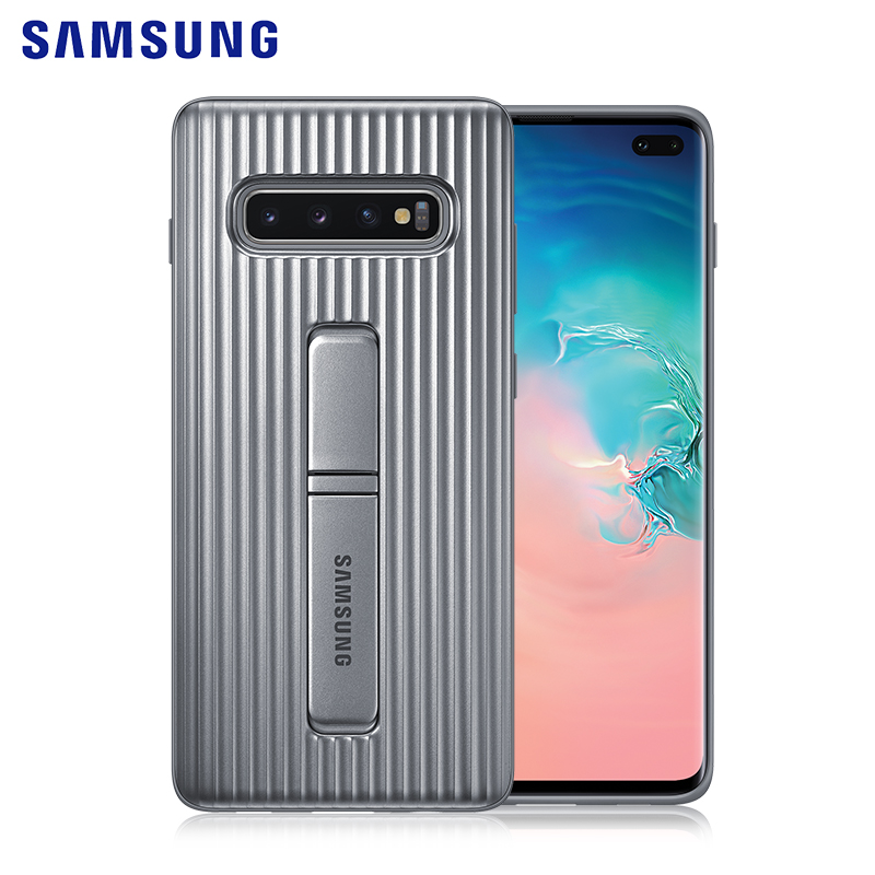 Original Samsung Galaxy S10 Plus Stand Case Shock-Proof Heavy Duty Shell Cover For Galaxy S10E/S10 Lite/S10