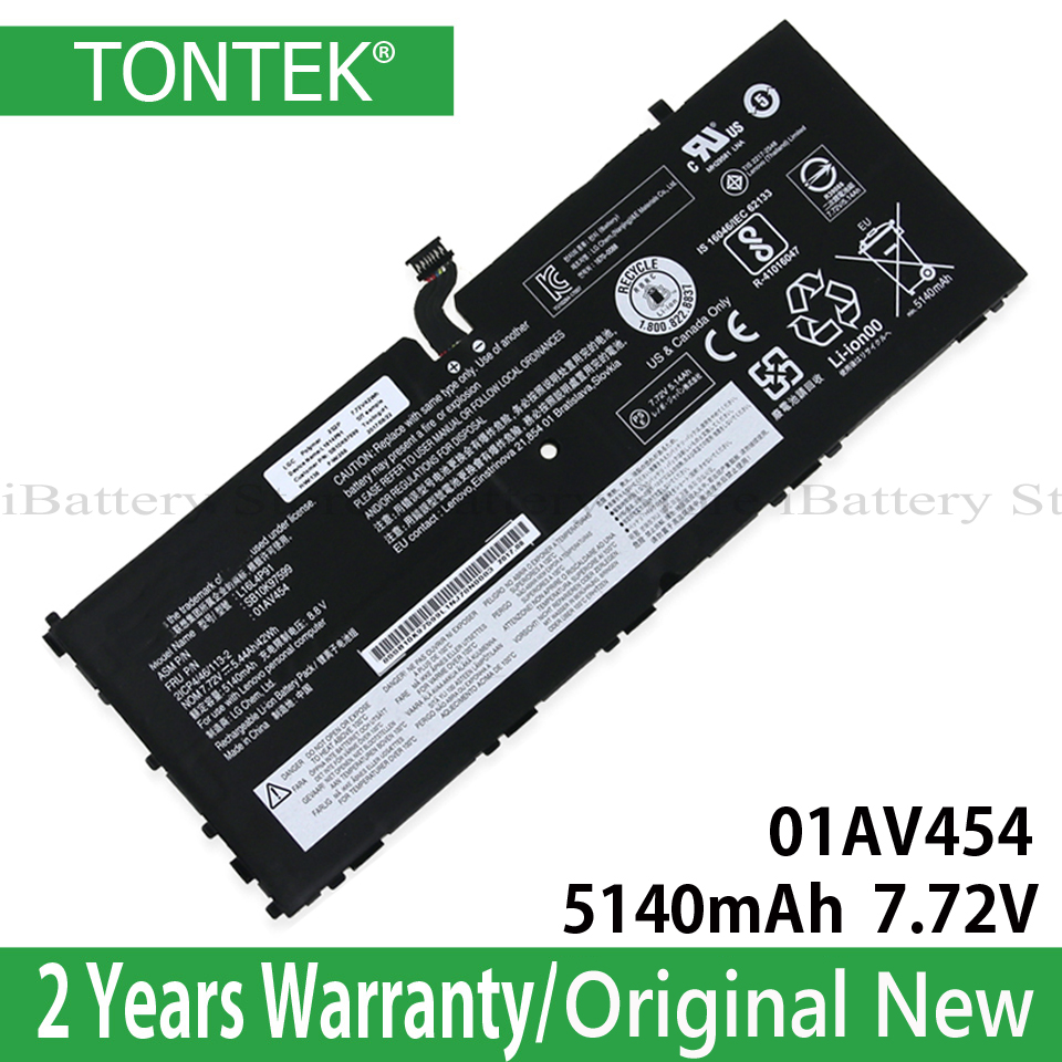 Genuine 01AV454 Battery For Lenovo Thinkpad X1 Tablet GEN 3 L16L4P91 SB10K97599