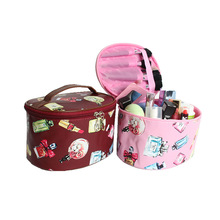 Women Makeup Bag Cosmetic Box Travel Organizer Storage Large Capacity Toiletry Box Cosmetic Case Free Shipping new large capacity makeup organizer women travel luggage jewelry storage box container bag case portable cosmetic suitcase bags