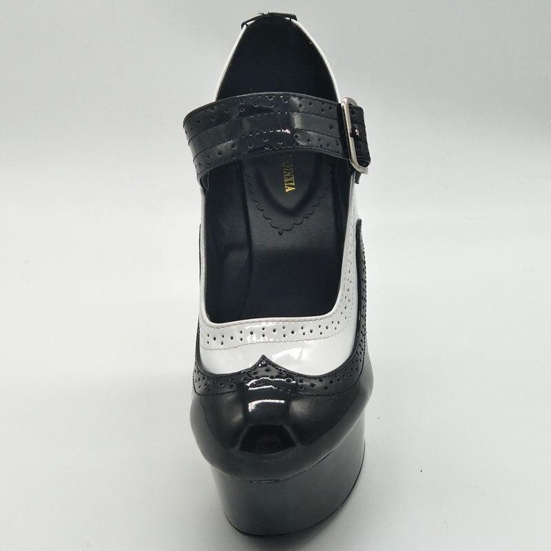 LAIJIANJINXIA ใหม่ 15 เซนติเมตรแมรี่ Janes Lolita ปั๊มรองเท้าผู้หญิงคอสเพลย์รองเท้าส้นรองเท้าสตรีส้นรองเท้าสาวแม่บ้านปั๊มส้นสูง-ใน รองเท้าส้นสูงสตรี จาก รองเท้า บน   3