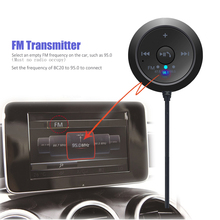 Wireless Bluetooth Receiver Kit Auto Bluetooth Car Kit Hand-free 5.0 Music Adapter AUX Wireless Connection with Cell Phone Music