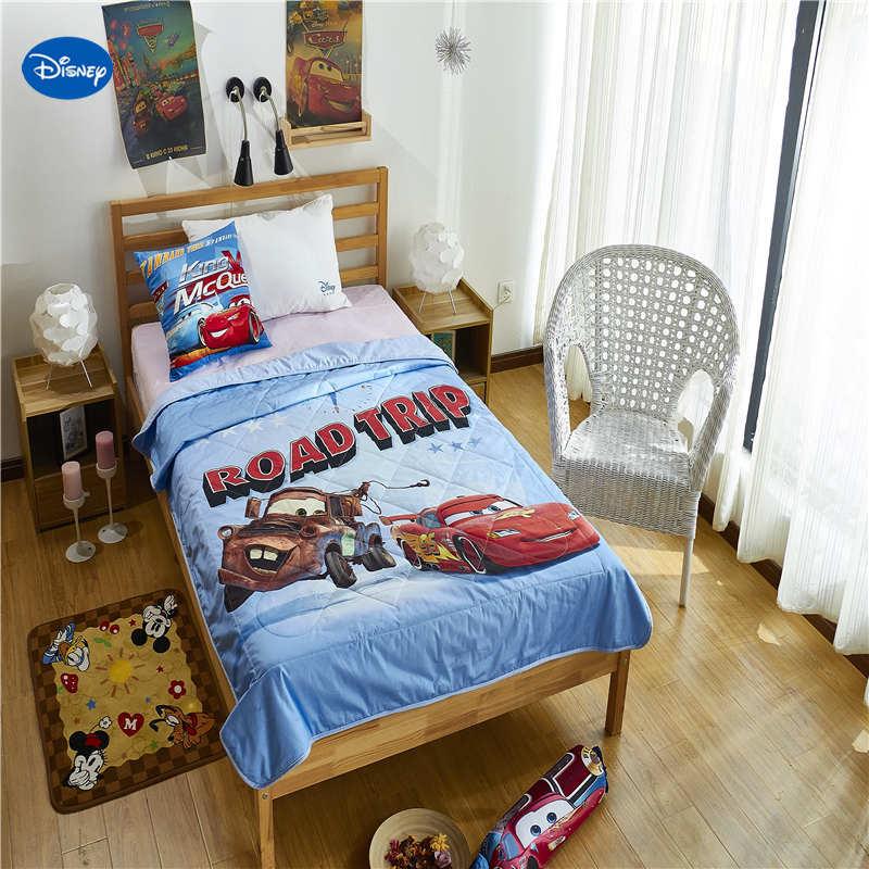 Disney Authentic McQueen Blanket Duvets Bedding Cotton Covers Children's Baby Kids Bedroom Decor 150*200cm and 200*230cm