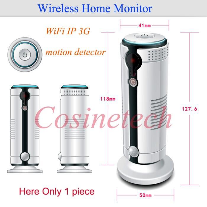 Auto call JH09 WiFi 3G camera alarm,Infrared Motion Detector PIR sensor Night Vision IR camera alarm kit Android&ioS App Control